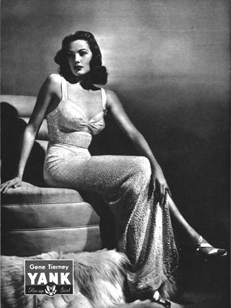 Gene Tierney Yank Pin Up May 1945