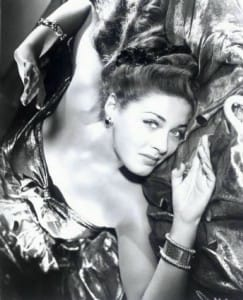 Gorgeous B Movie Star & WWII Pin Up Ramsay James