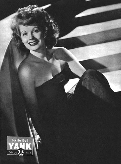 Lucille Ball Yank Pin Up: March  23, 1945