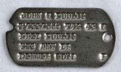 WW2 Dog Tags Type 2