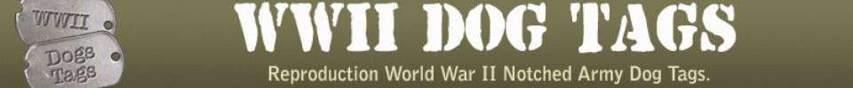 Logo WWII DOG TAGS