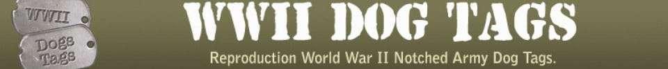 Logo WW2 DOG TAGS